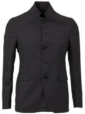 Классический пиджак Tagliatore. Цвет: чёрный