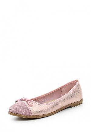 Балетки Coura. Цвет: розовый