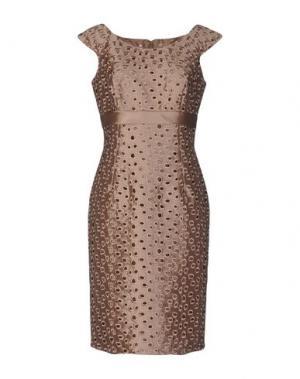 Платье до колена CAILAN'D. Цвет: песочный