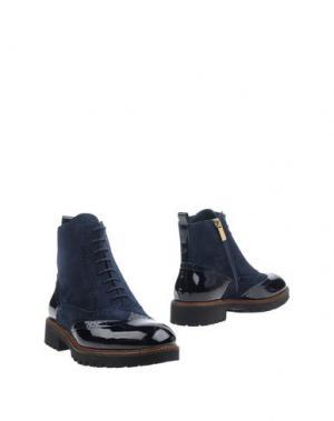 Полусапоги и высокие ботинки FIORANGELO. Цвет: темно-синий