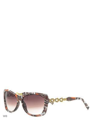 Солнцезащитные очки Vittorio Richi. Цвет: коричневый, оранжевый