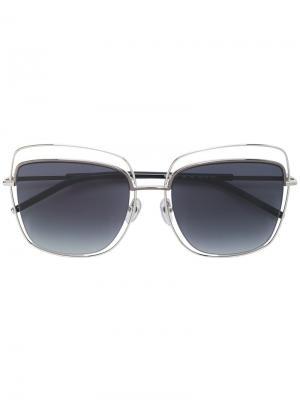 Солнцезащитные очки 9/S Marc Jacobs Eyewear. Цвет: металлический