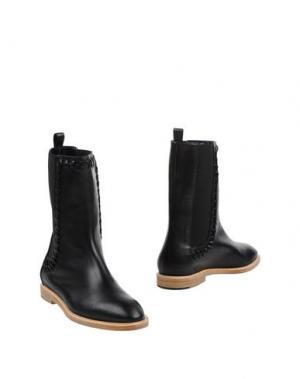 Полусапоги и высокие ботинки MAIYET. Цвет: черный