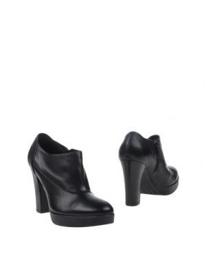 Ботинки DONNA PIÙ. Цвет: черный