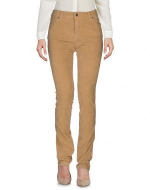 Повседневные брюки BREBIS NOIR. Цвет: бежевый
