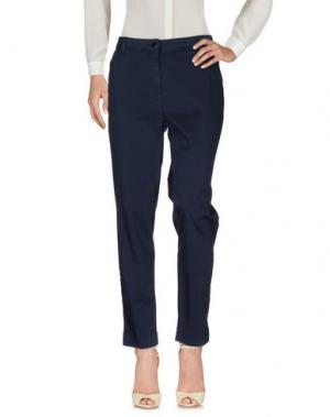 Повседневные брюки BARONI. Цвет: темно-синий