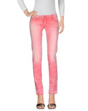 Джинсовые брюки JCOLOR. Цвет: красный