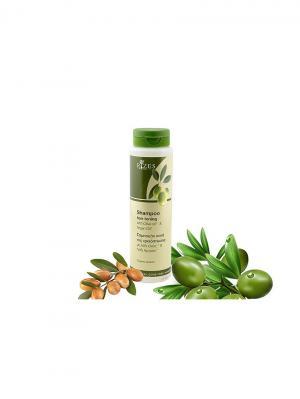 Тонизирующий шампунь с оливковым и аргановым маслом Rizes Crete. Цвет: белый