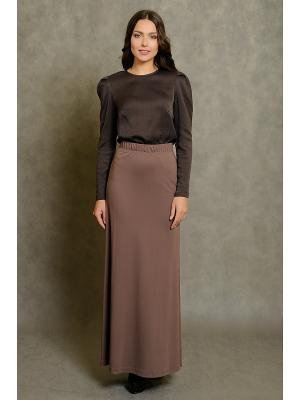 Блузка Vittoria Vicci. Цвет: темно-коричневый