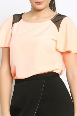 Блузка Emma Monti. Цвет: peach