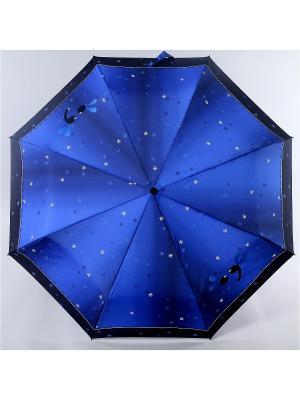 Зонт Zest. Цвет: индиго, белый, черный