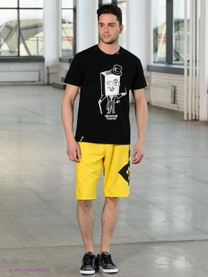 Бордшорты DC Shoes. Цвет: желтый