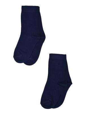 Носки, 2 пары Skinija. Цвет: синий