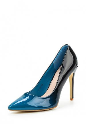 Туфли Stephan. Цвет: синий
