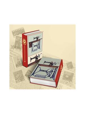 Декоративная шкатулка Советская швейная машинка Magic Home. Цвет: бежевый