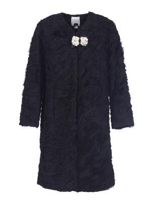 Пальто Edward Achour (Франция) 414006-9611B. Цвет: черный