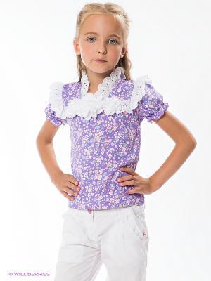 Блузка CHOUPETTE. Цвет: сиреневый