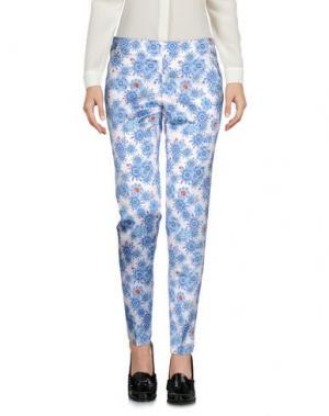 Повседневные брюки VIOLET ATOS LOMBARDINI. Цвет: небесно-голубой