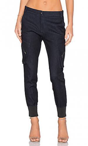 Брюки бойфренд карго James Jeans. Цвет: none