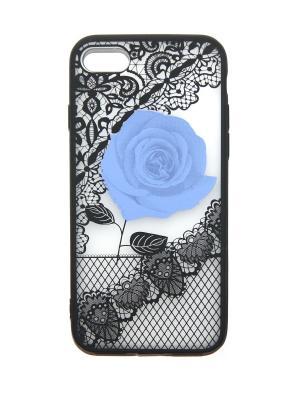 Чехол для iPhone 7 Lola. Цвет: фиолетовый, черный
