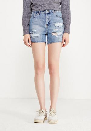 Шорты джинсовые Dorothy Perkins. Цвет: голубой