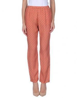 Повседневные брюки NICE THINGS by PALOMA S.. Цвет: красный