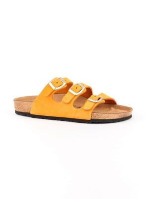 Пантолеты GELD. Цвет: оранжевый