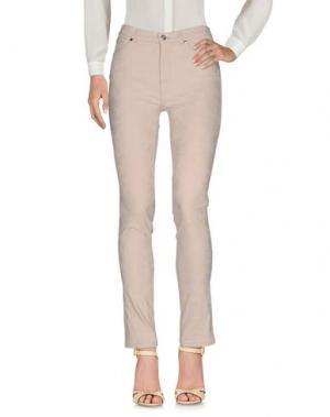 Повседневные брюки BARONI. Цвет: бежевый