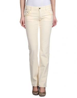 Повседневные брюки PARASUCO CULT. Цвет: слоновая кость