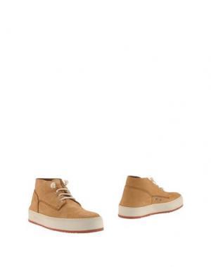 Полусапоги и высокие ботинки BARLEYCORN. Цвет: песочный