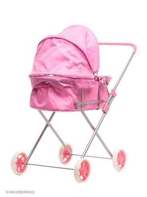 Коляска для кукол Mami. Цвет: розовый, белый
