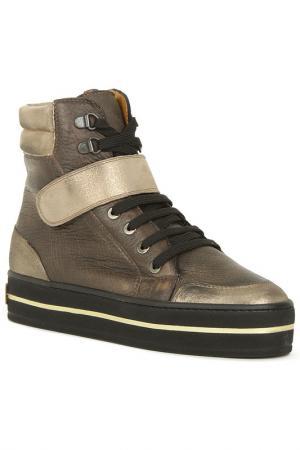 Ботинки GIEMME. Цвет: коричневый