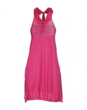 Платье до колена PRINCESSE METROPOLITAINE. Цвет: темно-фиолетовый