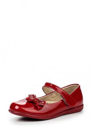 Туфли Obba. Цвет: красный