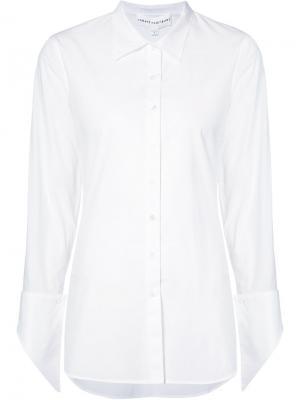 Классическая рубашка Robert Rodriguez. Цвет: белый