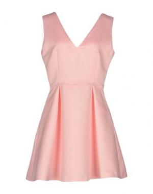 Короткое платье PINKO. Цвет: розовый