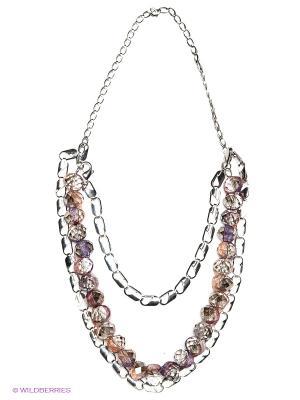 Ожерелье Модные истории. Цвет: розовый