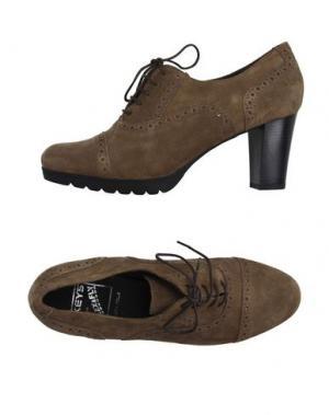 Обувь на шнурках KEYS. Цвет: верблюжий