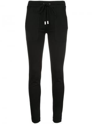 Slim-fit track pants The Reracs. Цвет: чёрный