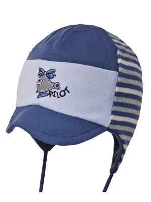 Шапка Elo-Melo. Цвет: серо-голубой, светло-голубой, серый
