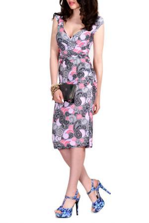 Платье FRANCESCA LUCINI. Цвет: ниагара