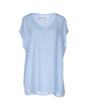 Блузка BRAND UNIQUE. Цвет: небесно-голубой