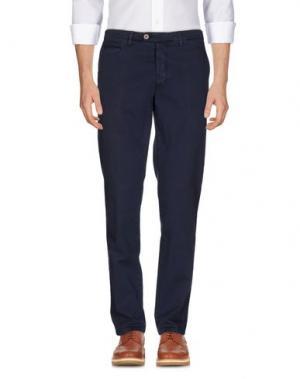 Повседневные брюки PIATTO. Цвет: темно-синий