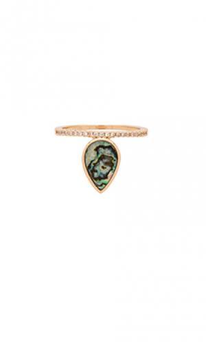 Кольцо Melanie Auld. Цвет: металлический золотой