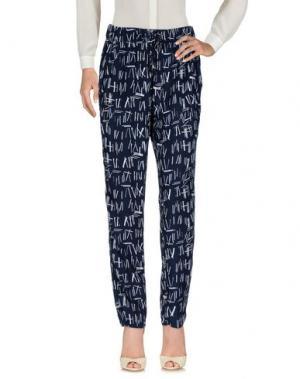 Повседневные брюки GARCIA JEANS. Цвет: темно-синий