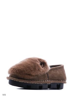 Туфли Shelly. Цвет: коричневый