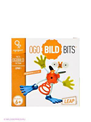 Конструктор-игра OgoBild Bits Leap. Цвет: синий, белый, красный