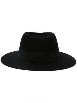 Фетровая шляпа Thadee Maison Michel. Цвет: чёрный