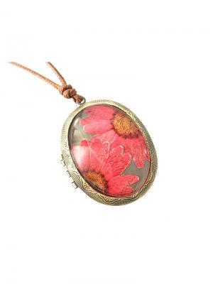 Кулон МЕДАЛЬОН розовый BRADEX. Цвет: розовый