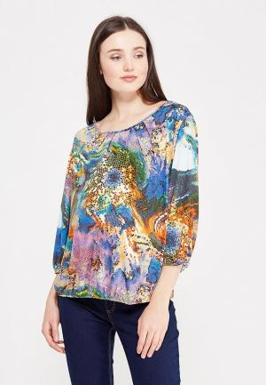 Блуза Фэст. Цвет: разноцветный